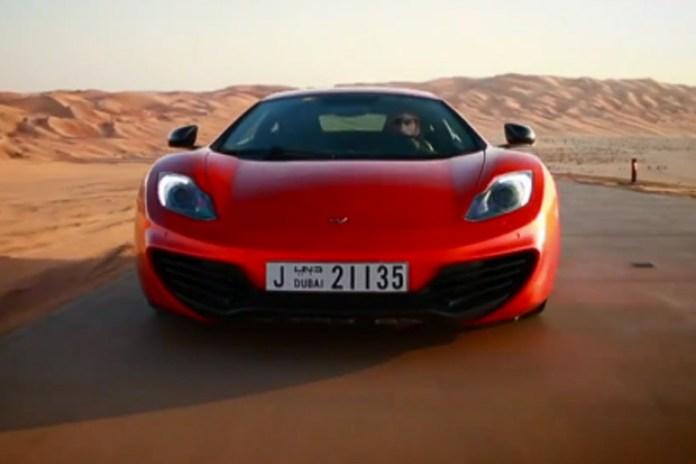 """McLaren 12C """"The Perfect Line"""" at Yas Marina Circuit Video"""
