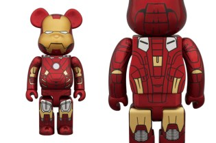 Medicom Toy 400% & 100% Iron Man Mark VII Bearbrick