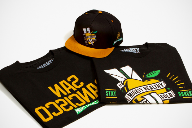 """Benny Gold x Mighty Healthy """"Stay Hungry"""" Capsule Collection"""