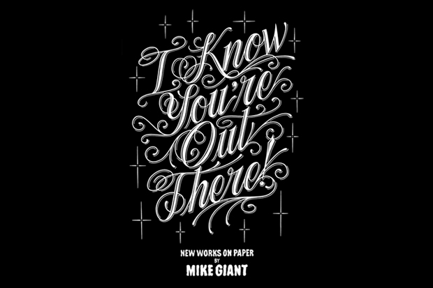 "Mike Giant ""I Know You're Out There"" Exhibition @ The Pretty Pretty Collective"