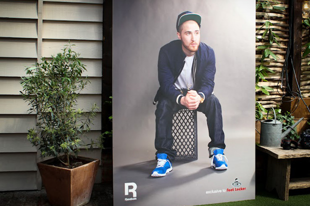 mike posner x reebok classic realflex foot locker exclusive launch event recap