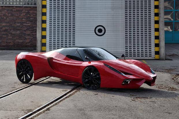 Mimikcry Fahrradi Farfalla FFX Supercar