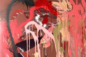 "Misha Hollenbach ""Smagliature"" Exhibition @ Utopian Slumps"