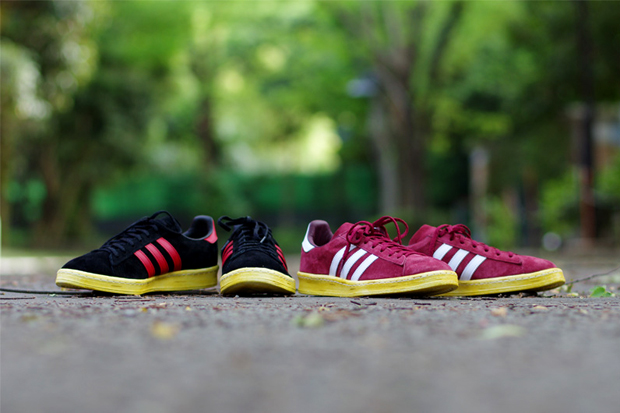 mita x adidas Originals Campus 80s Pack Further Look