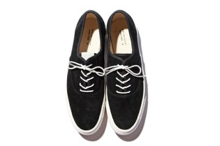 N.HOOLYWOOD Suede Deck Shoes