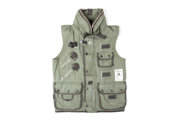 SVG ARCHIVES by NEIGHBORHOOD 2012 U.S.N.V. Vest