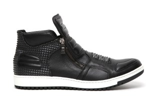 Neil Barrett 2012 Spring/Summer Dickensian Leather Pyramid Trainer
