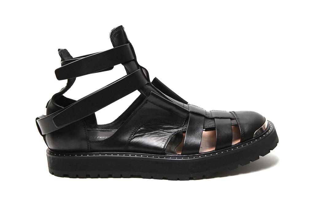 neil barrett 2012 spring summer hybrid jelly boot sandal
