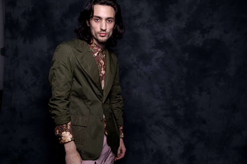nepenthes new york 2012 spring summer aaron lookbook part 1