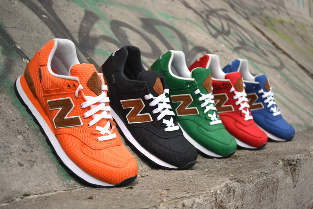 "New Balance 2012 Fall M574 ""Backpack"" Collection"