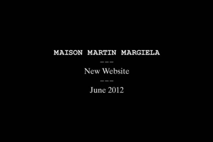 New Maison Martin Margiela Website to Launch in June