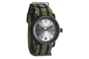 "Nixon 2012 ""Surplus/Black Nylon"" Collection"