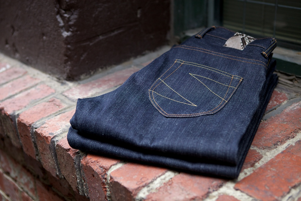 NOIR 17 Ounce Selvedge Denim