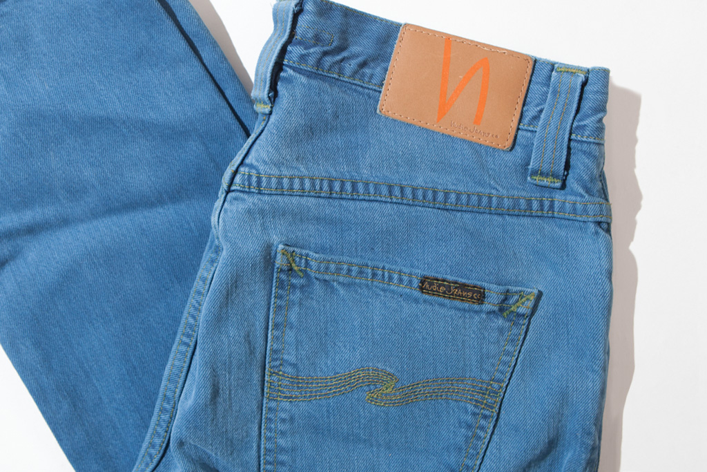 nudie jeans 2012 woad guado dyed collection