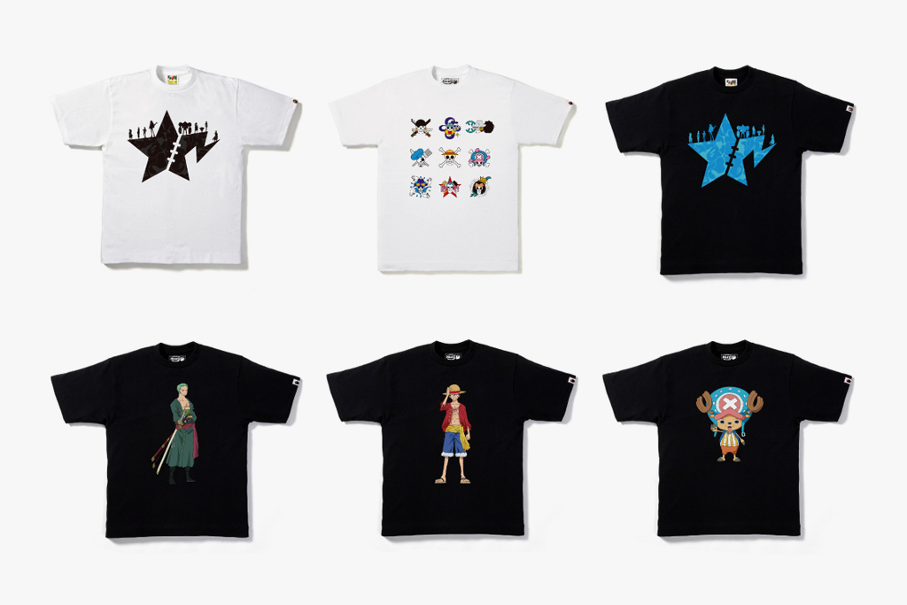 onepiece by a bathing ape 2012 collection