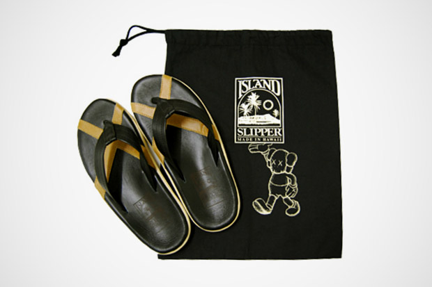 OriginalFake x Island Slipper Leather Sandal