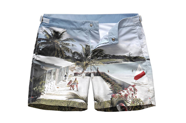 Orlebar Brown Photorealistic Swim Trunks