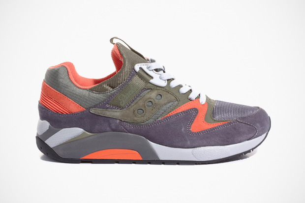 Packer x Saucony Grid 9000 Trail Pack