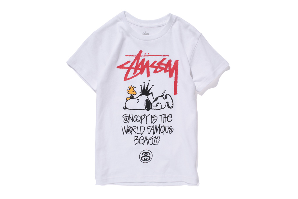 peanuts stussy kids 2012 spring summer capsule collection
