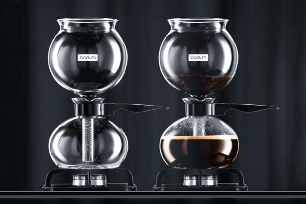 PEBO Vacuum Coffee Maker by BODUM