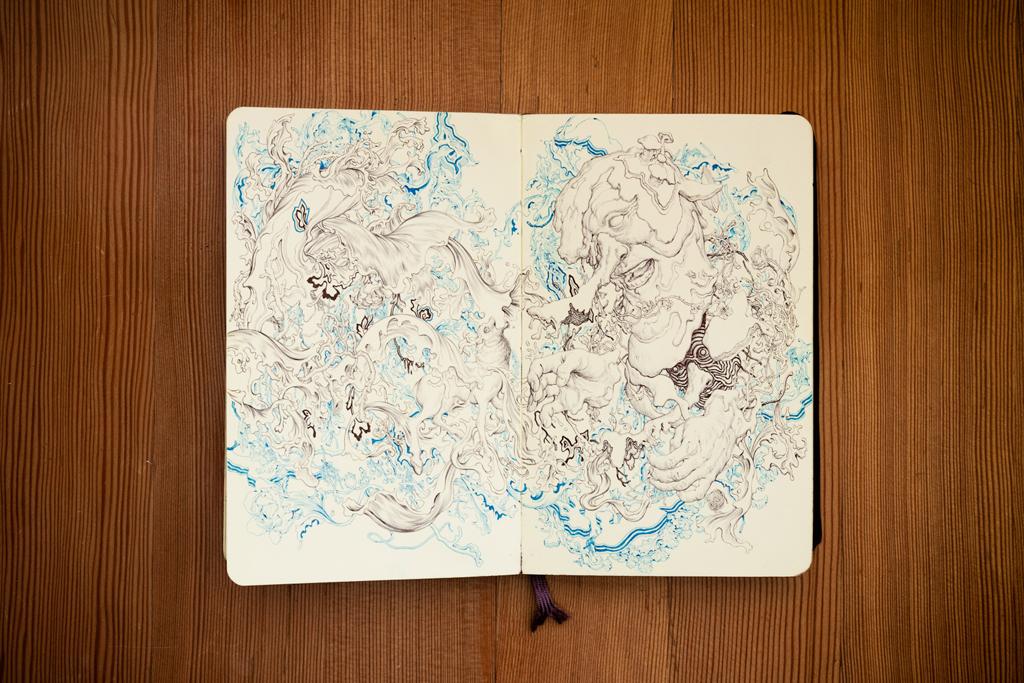 pen paper james jean