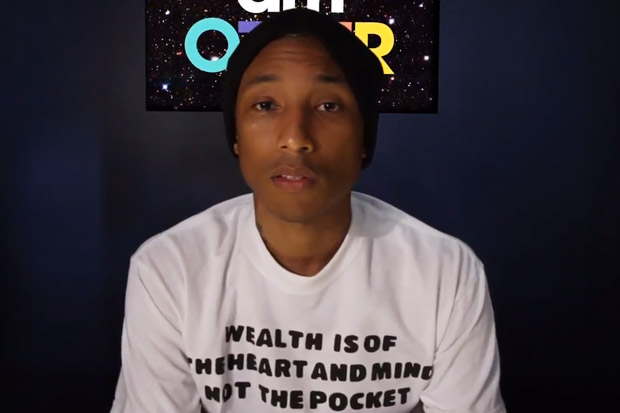 Pharrell Williams Introduces i am OTHER