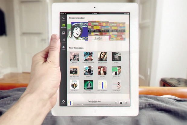 Popular Music Streaming Platform Spotify Releases iPad App