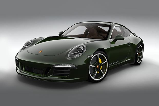 Porsche 60th Anniversary 911 Club Coupe