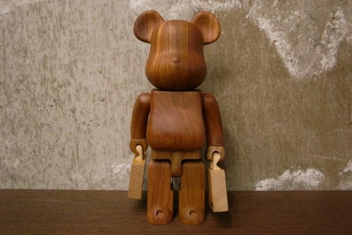 Porter x Karimoku x Medicom Toy 400% Bearbrick