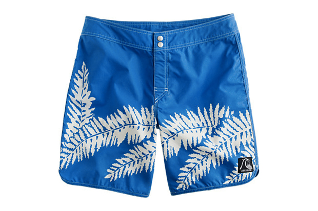 quiksilver for j crew surf heritage boardshorts