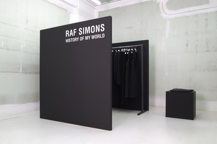 Raf Simons: History of My World at NUMBER 3