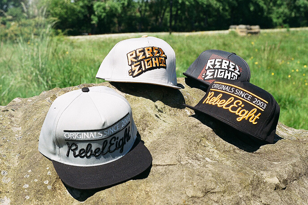 REBEL8 2012 Spring/Summer Snapback Collection