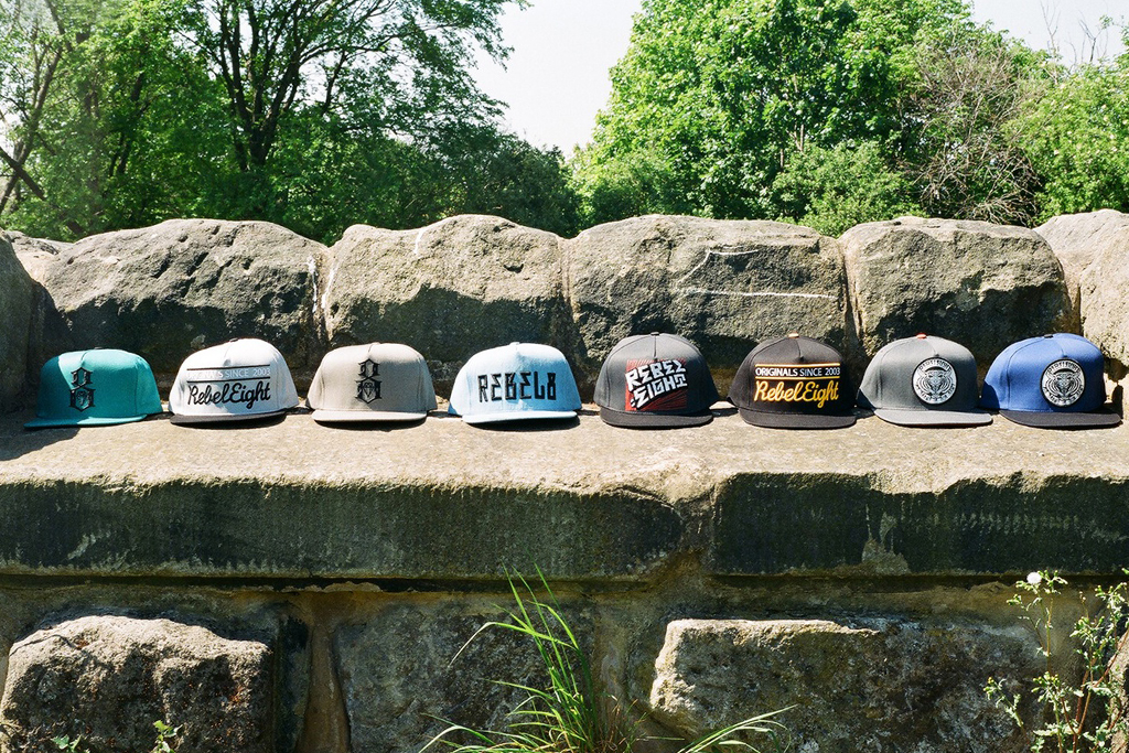 REBEL8 2012 Spring/Summer Snapback Collection