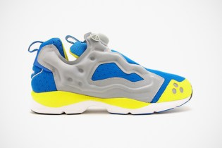 Reebok 2012 Summer Insta Pump Fury HLS Grey/Blue/Yellow