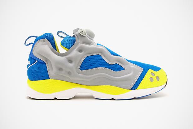 Reebok 2012 Summer Insta Pump Fury HLS Grey/Blue/Yellow