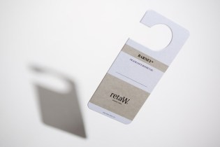 "retaW ""BARNEY"" Fragrance Room Tag"