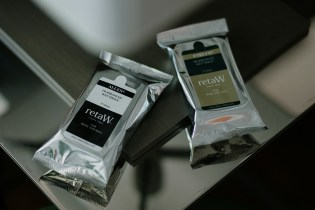 retaW 2012 Fragrance Wet Tissue ALLEN* & EVELYN*