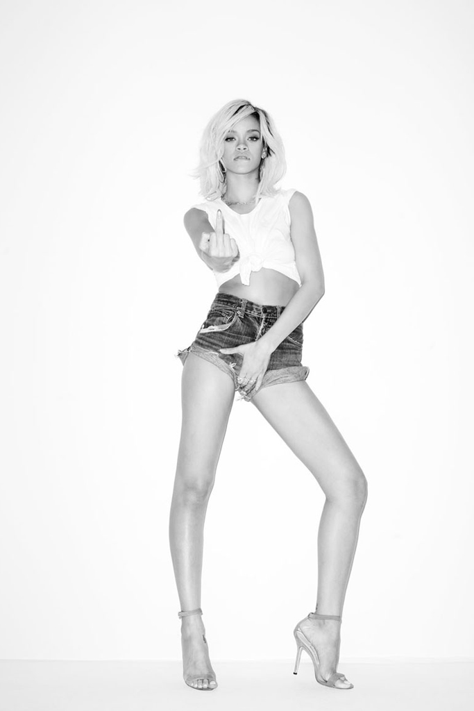 rihanna shot by terry richardson
