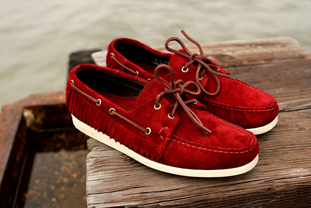 ronnie fieg for sebago 2012 spring summer mohican