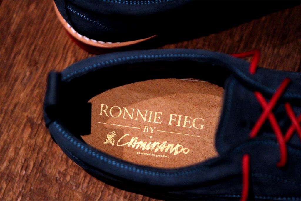 ronnie fieg x caminando 2012 spring summer collection