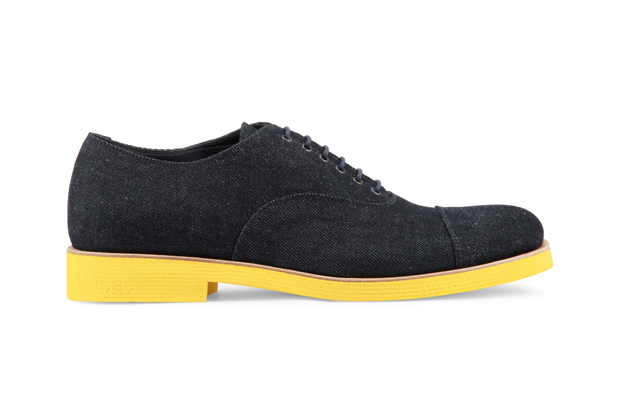 Sergio Rossi Denim Oxford