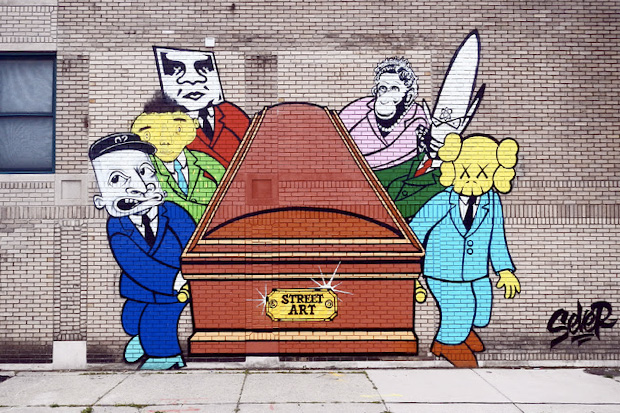 Sever's Predicted Death of Street Art Mural in Detroit