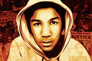Shepard Fairey for Ebony Magazine Trayvon Martin Cover Art