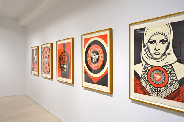 "Shepard Fairey ""Harmony & Discord"" @ Pace Prints NYC"