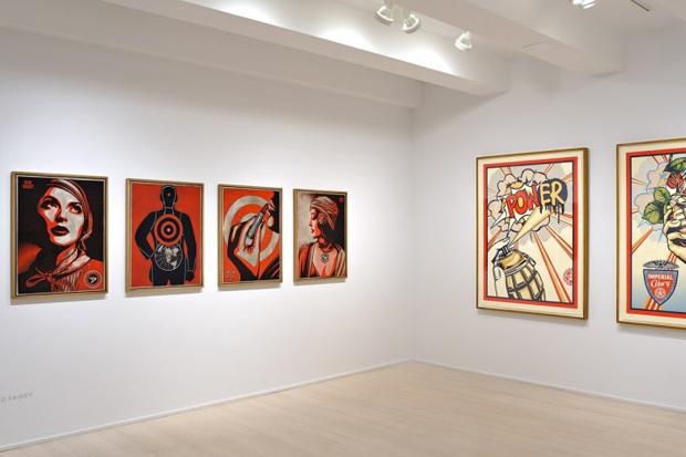 "Shepard Fairey ""Harmony & Discord"" @ Pace Prints NYC"