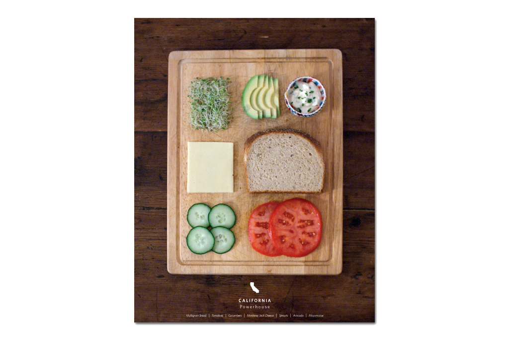 Stately Sandwiches - Deconstructed Sandwiches From Each State