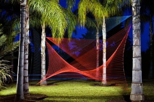 String Installations by Sebastien Preschoux