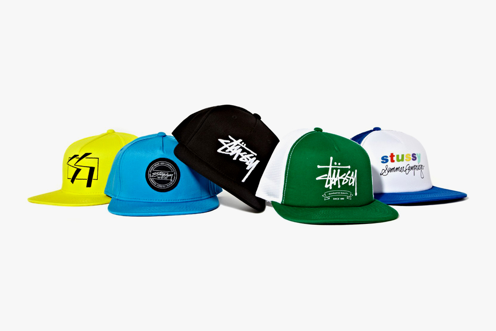 stussy 2012 spring summer cap collection