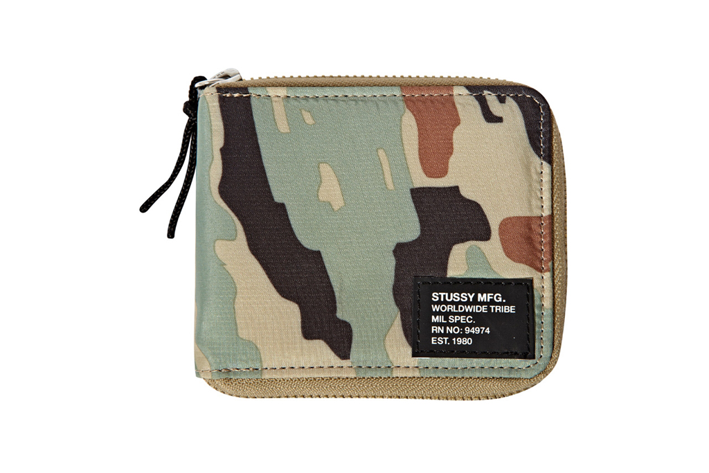 stussy 2012 summer mil spec camo accessories
