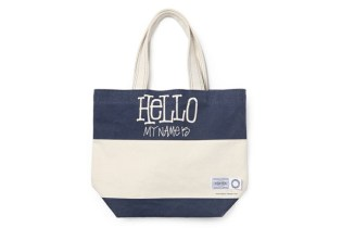 "Stussy x FLAVOR. x Porter ""Hello"" Tote Bag"